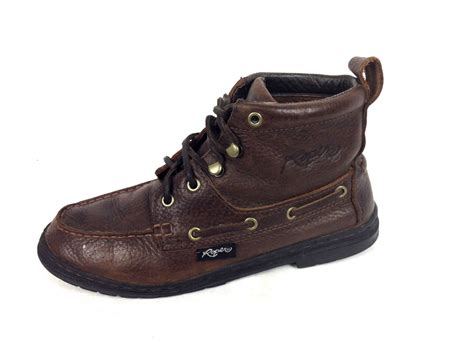 boots for sale roper shoes womens 10 brown leather boots for sale item