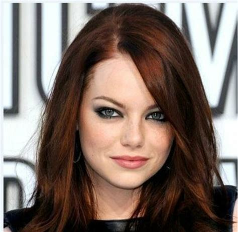 hair colour auburn pictures auburn highlight brown hairs