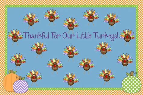 turkey template for bulletin board thankful for our turkeys thanksgiving bulletin board