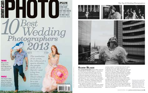 Top 10 Wedding Photographers In The World by American Photo Top 10 Wedding Photographers In The World