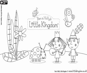 princess holly coloring page juegos de ben y holly para colorear imprimir y pintar