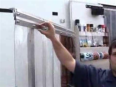 uline vinyl door kits pit pal products vinyl doors trailer garage