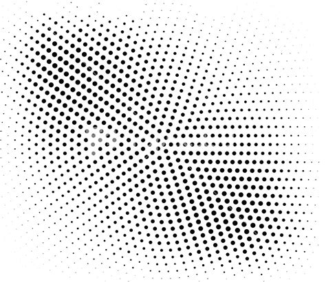 halftone dot pattern vector halftone vector element stock image