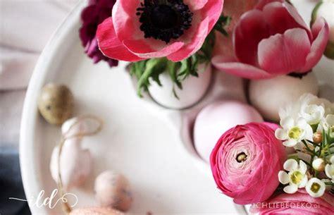 Osterdeko Mit Blumen by Osterdeko Mit Frischen Blumen Ich Liebe Deko