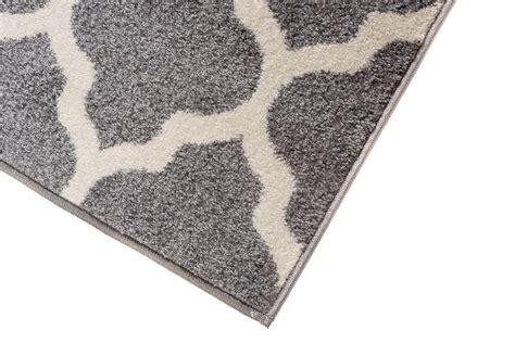 flur teppich grau l 196 ufer br 220 cke flur teppich muster marokkanisch modern in