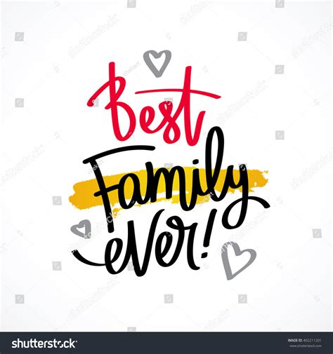 what is the best family best family excellent gift card stock vector 402211201