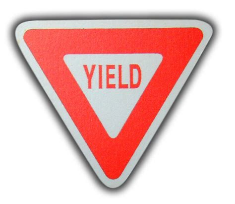 Drawer Sign by Road Sign Yield Sign Drawer Pull Rosenberryrooms