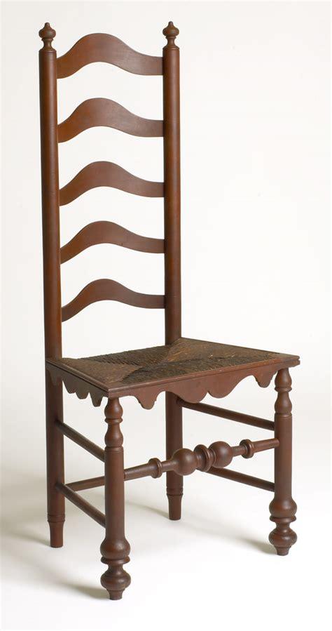 ladder back bench andersen stauffer furniture makers seating ladder