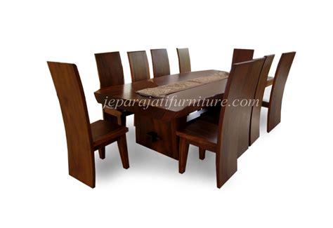 Makan Meja Raja Kuring meja kursi makan trembesi jepara jati furniture