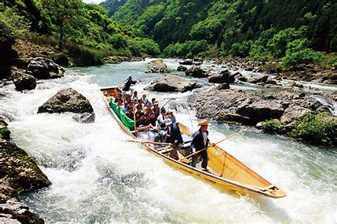 boat ride to japan jal guide to japan hozugawa river boat ride staff columns
