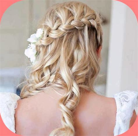 braided hairstyles party wavy braided white hairstyles for parties the awesome