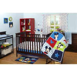 Mickey Mouse Baby Crib Bedding Disney Baby Mickey Mouse 3 Crib Bedding Set Reviews Wayfair