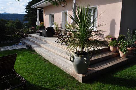 terrasse a construire une terrasse 224 1 niveau astuces bricolage