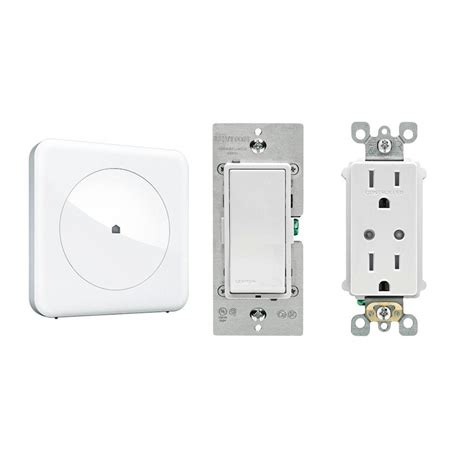 wink home automation lighting bundle with hub