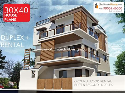 100 Doors Floor 30 by 30x40 House Plans In Bangalore For G 1 G 2 G 3 G 4 Floors