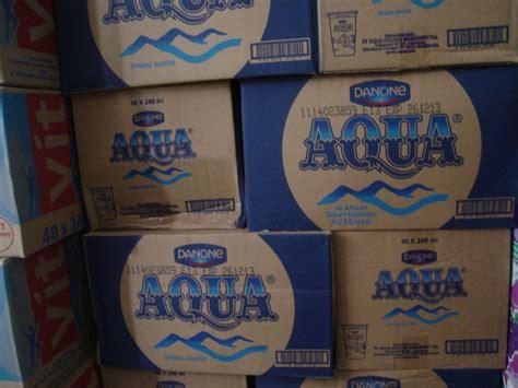 Teh Gelas Botol Per Karton aqua home service baskoro aqua 240 ml