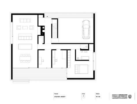Plan Com | haus kaltschmieden bernardo bader architects archdaily