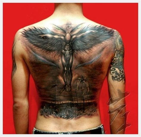 front and back tattoos in 2018 tattoos trends the cross tribal back designs and