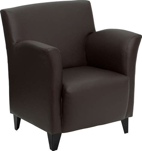 Modern Office Guest Chairs by 1pc Modern Leather Office Home Reception Guest Chair Ff