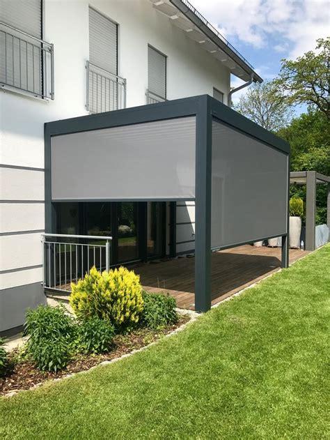 pavillon mit lamellendach 51 besten aluminium lamellendach bilder auf