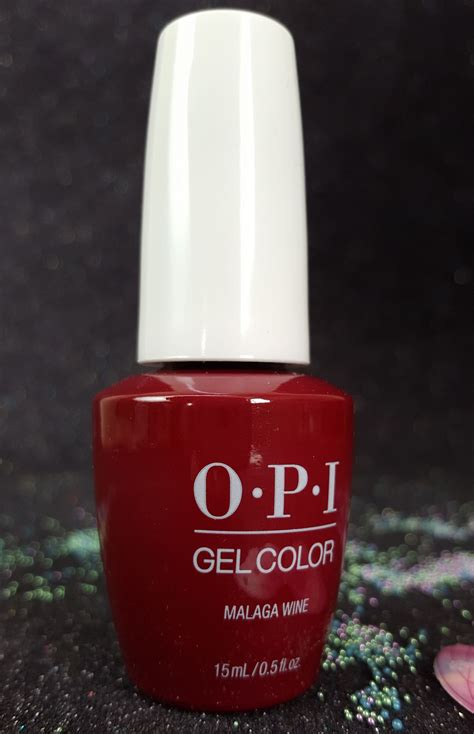 gel color by opi malaga wine gcl87 i gel nails