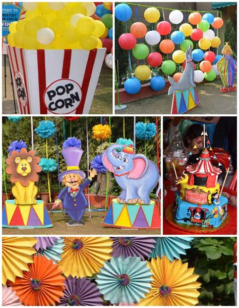 carnival themed birthday games first birthday carnival party full of really cute ideas