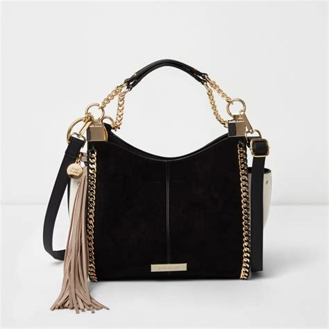 Black Bag black mini chain cross bag shoulder bags bags