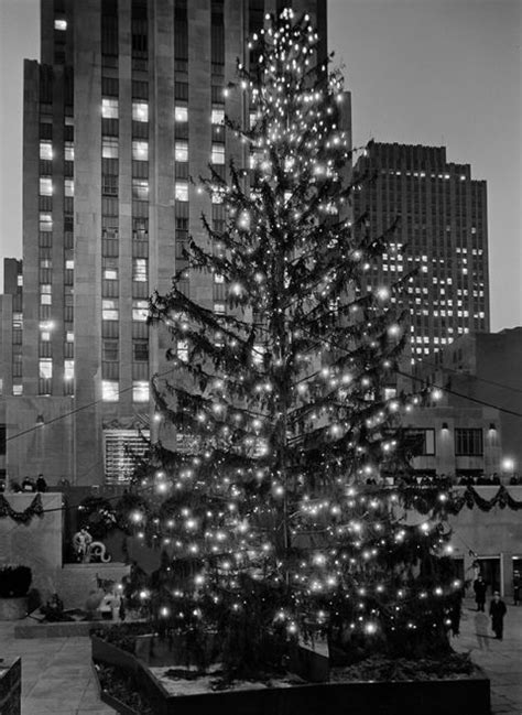 putting your holiday decorations up early could make you happier rockefeller center tree photos through the years rock center tree tradition