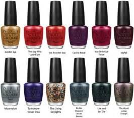 opi nail color names opi nail colors list and names