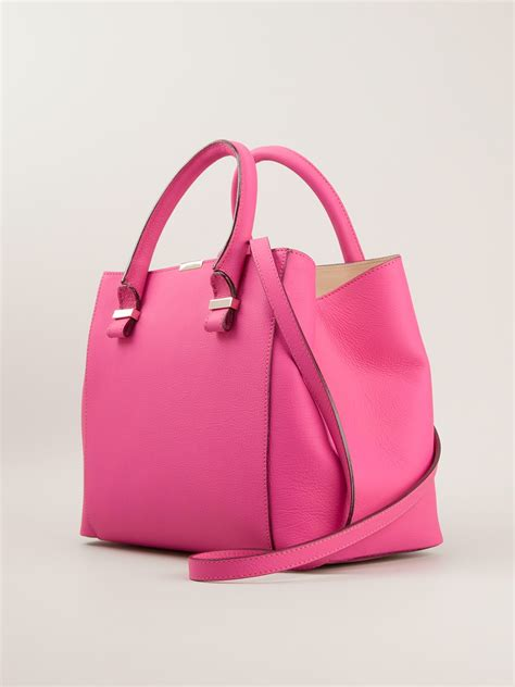 Bag Bveckham beckham quincy tote bag in pink lyst