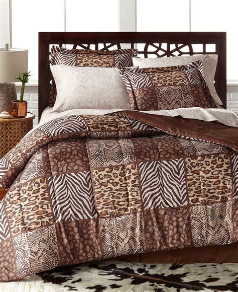 grand bank california king bedding set dark brown heather