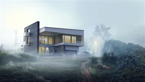 Sweet Home 3d House Design Making Of Mountain Meadow 3d Architectural Visualization