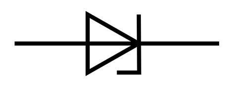 diode symbol in circuit symbol of zener diode clipart best