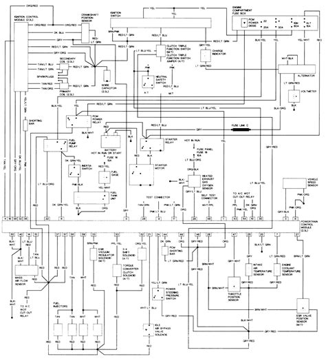 94 ford ranger radio wiring diagram 94 ford ranger fuel wiring diagram get free image