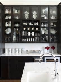 Kitchen With Black And White Cabinets Bye Bye White Hello Kitchen Cabinets Nbaynadamas Furniture And Interior