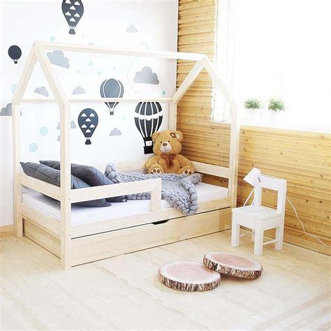 lit cabane avec tiroir gigogne milo avec ou sans
