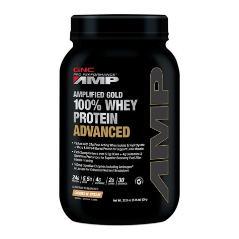 Whey Protein Gnc Gnc Singapore Gold Whey Protein Cookies N
