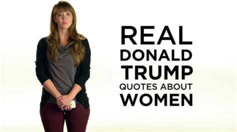 commercial woman quoting trump new anti trump ad quotes trump saying women you gotta