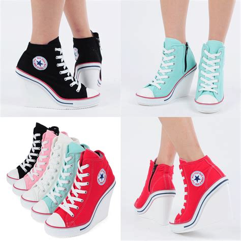 Best Seller Platform Boots Side Zipp Cm15 Hitam Termurah wedges trainers heels sneakers platform high top ankles boots shoes 777 side zip heels