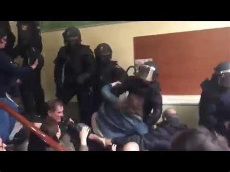 el policial octubre 2009 brutalidad policial catalu 241 a 1 octubre 2017 youtube