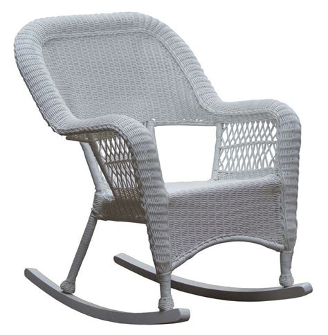White Wicker Rocking Chair Outdoor by 1000 Images About Patio Color On