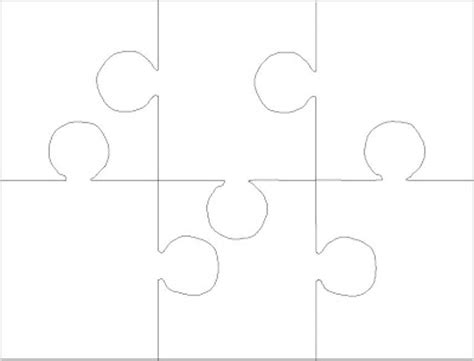 6 jigsaw template blank jigsaw puzzle pieces template 2017 2018 best