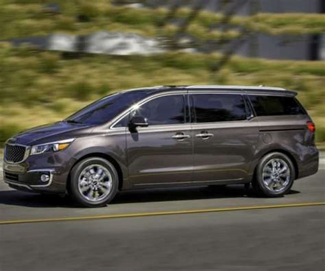Kia Caravan All Configurations For 2017 Model Year Kia Sedona