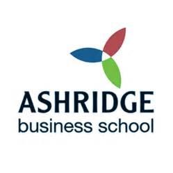 Ashridge Business School Mba by Ashridge