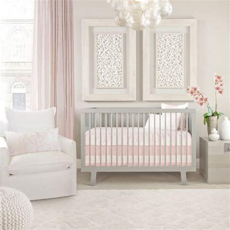 pink baby nursery oilo s capri crib set blush pink nursery design baby