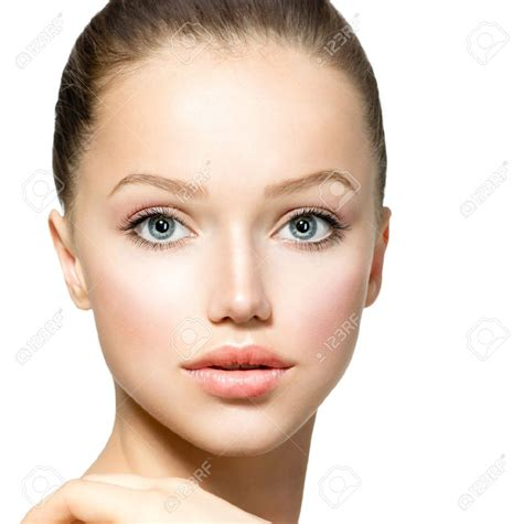 Shapes Of Models Faces | 17935506 beauty model girl portrait beautiful woman face