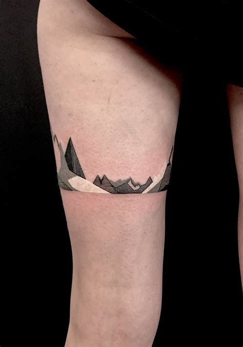 mountain tattoos geometric mountain minimalism mountain tattoos