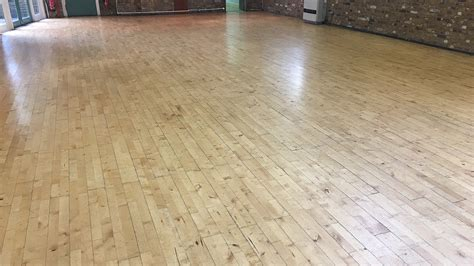 Wood Floor Restoration   Oakfield Preparatory School