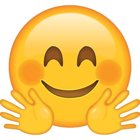 hugging face emoji emoji island