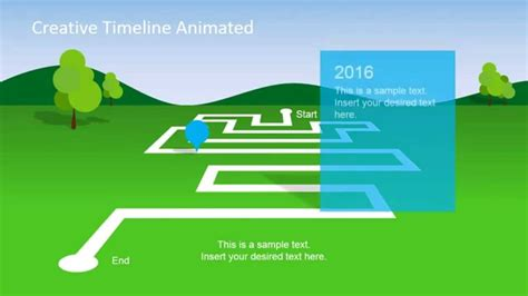 animated landscape powerpoint timeline youtube